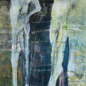 "Stuart Ochilitree, ""Two Figures"""